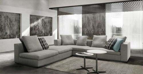 produzione   divani in Brianza aurora divano moderno