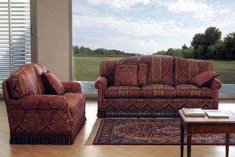 produzione   divani in Brianza michelangelo divano classico