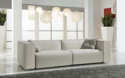 produzione   divani in Brianza lola divano moderno