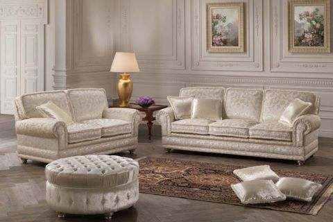 produzione   divani in Brianza tiziano divano classico