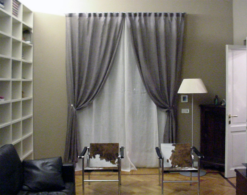 Awesome Tende Da Soggiorno Moderno Contemporary - Home Design ...